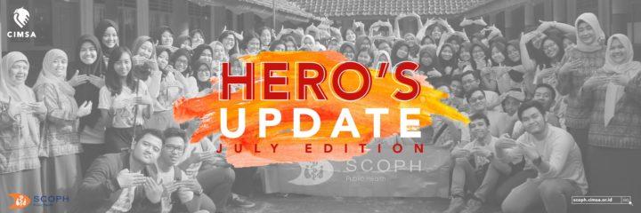 HERO's Update : July Edition