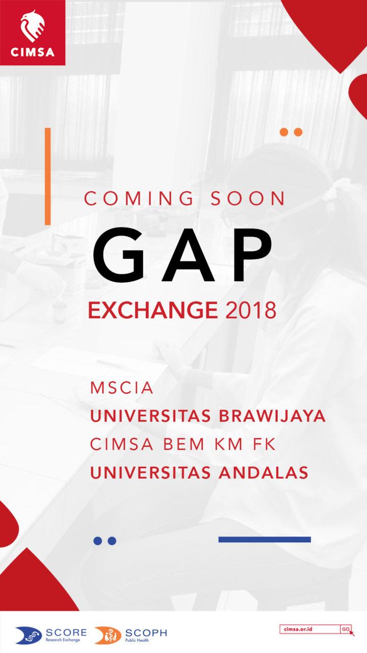 GAP Exchange 2018 : Coming Soon
