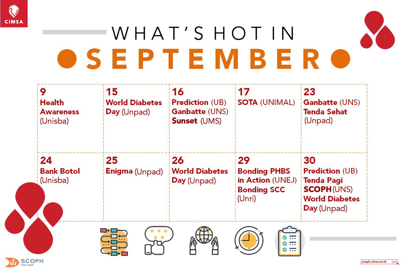 WHAT'S HOT IN SEPTEMBER