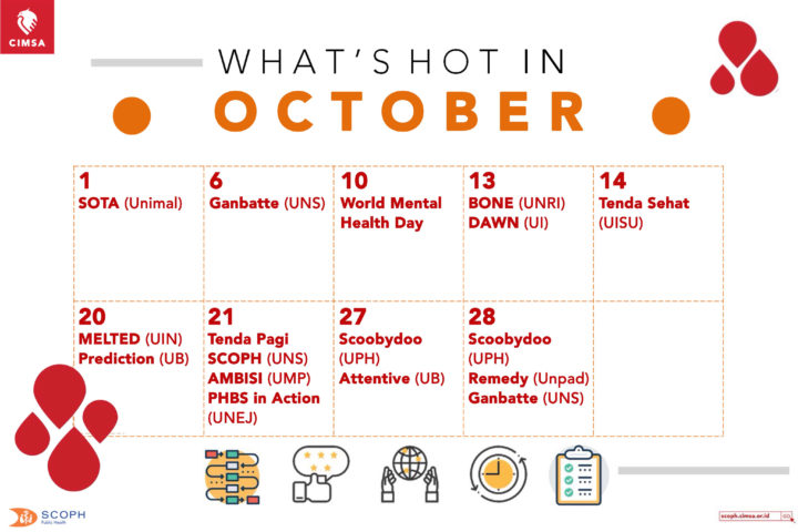 WHAT'S HOT IN OCTOBER