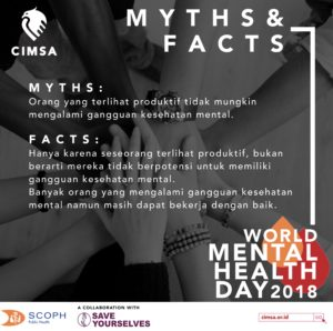 World Mental Health Day 2018 Scoph