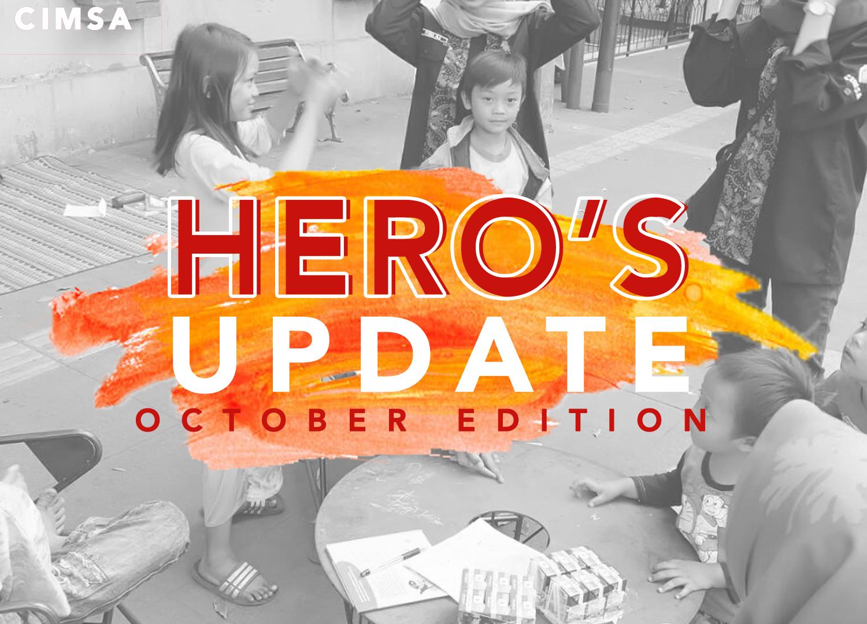 HERO's UPDATE : October Edition