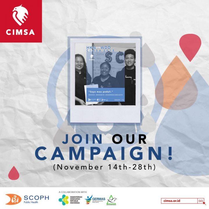 HKN-WDD CIMSA 2018 : Campaign Challenges
