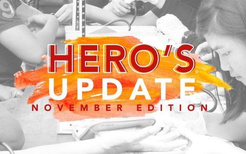 HERO's UPDATE : November Edition