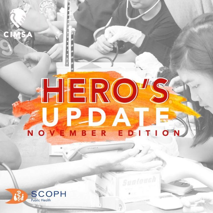 HERO's UPDATE : November Edition