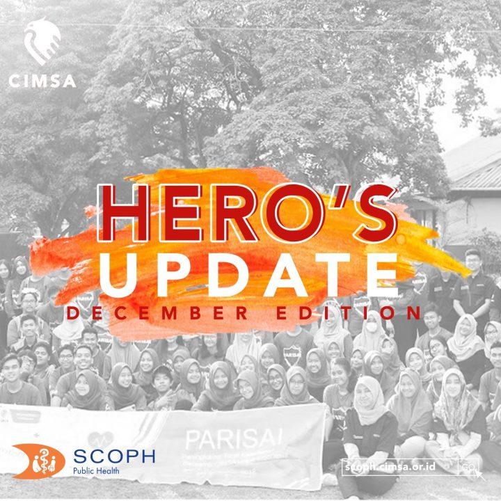 HERO's Update : December-January Edition