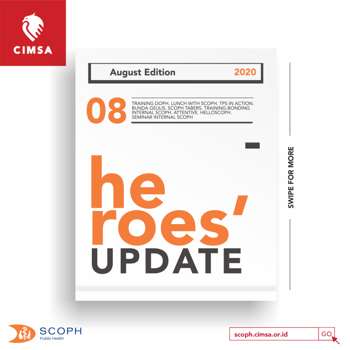 [HEROES' UPDATE: AUGUST EDITION]