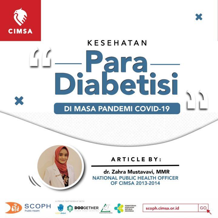 Kesehatan Diabetisi di Masa Pandemi