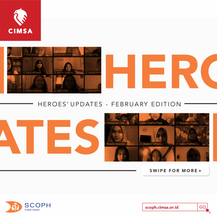 [HEROES' UPDATE: FEBRUARY EDITION]