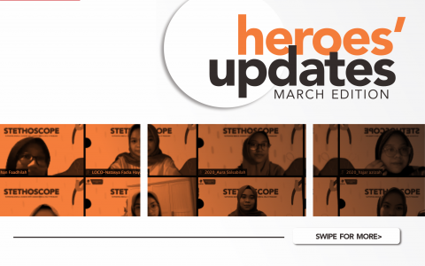 [HEROES' UPDATE: MARCH EDITION]